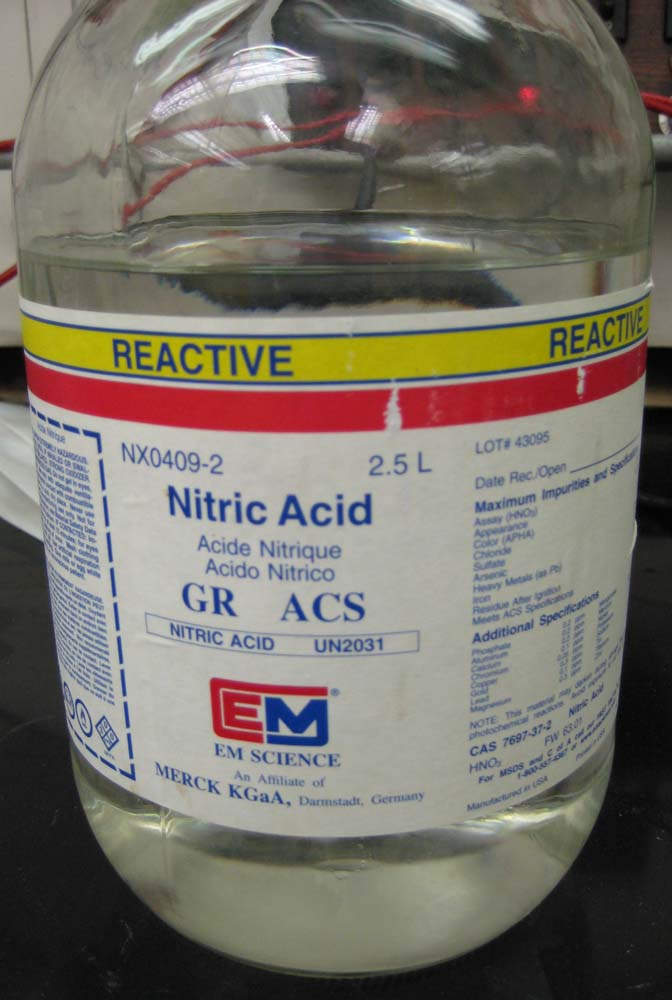 nitric acid Receive supply/demand analysis of current markets for nitric acid, future growth with five-year projections, and historical data.